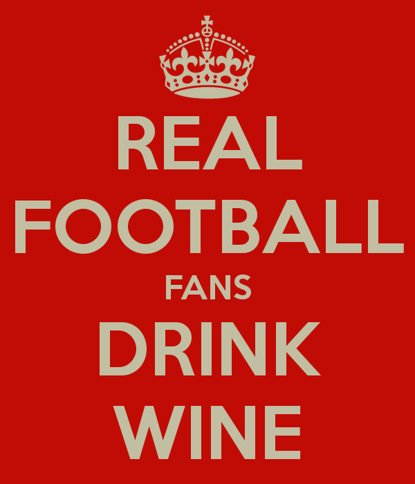 Football and Wine, the perfect pairing