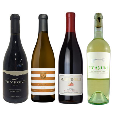 Mixed case of california wines