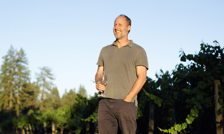 winemaker Thomas Rivers Brown