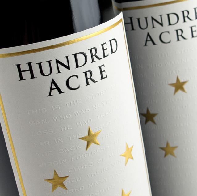 hundred acre wine label