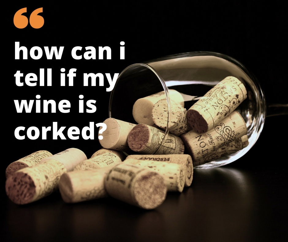 wine corks in glass with words
