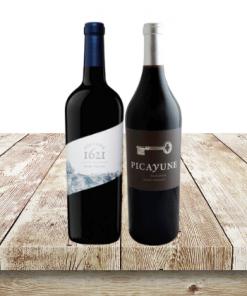 napa valley wine 2 btl set