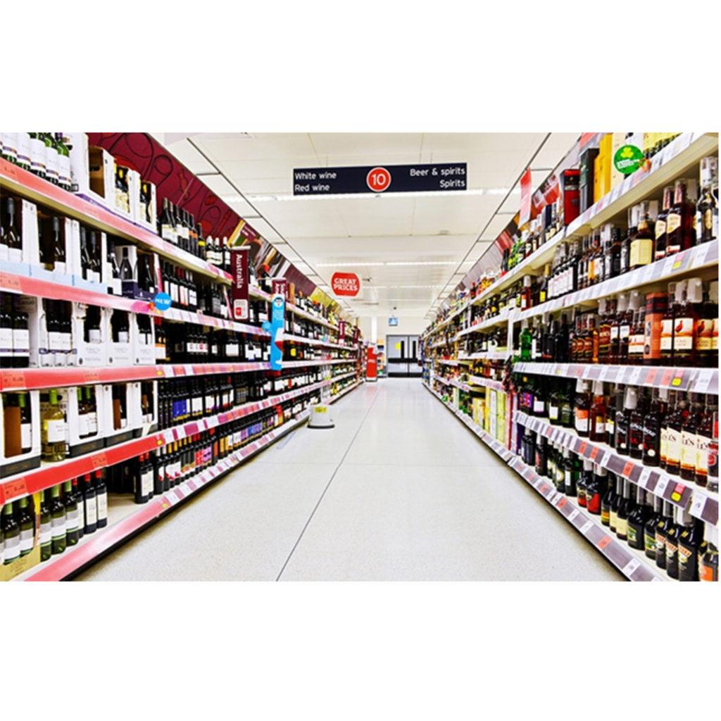 wine aisle