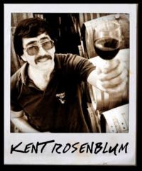 Kent Rosenblum with wine glass