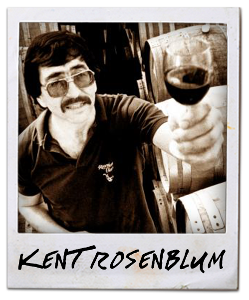 Kent Rosenblum with wine glass