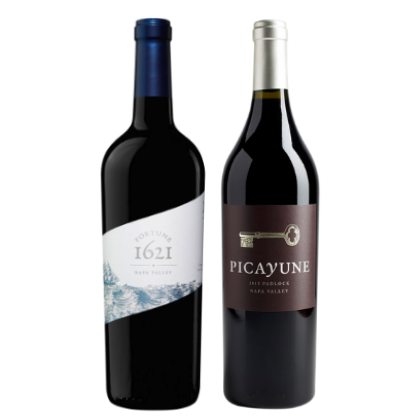 napa valley red wine duo