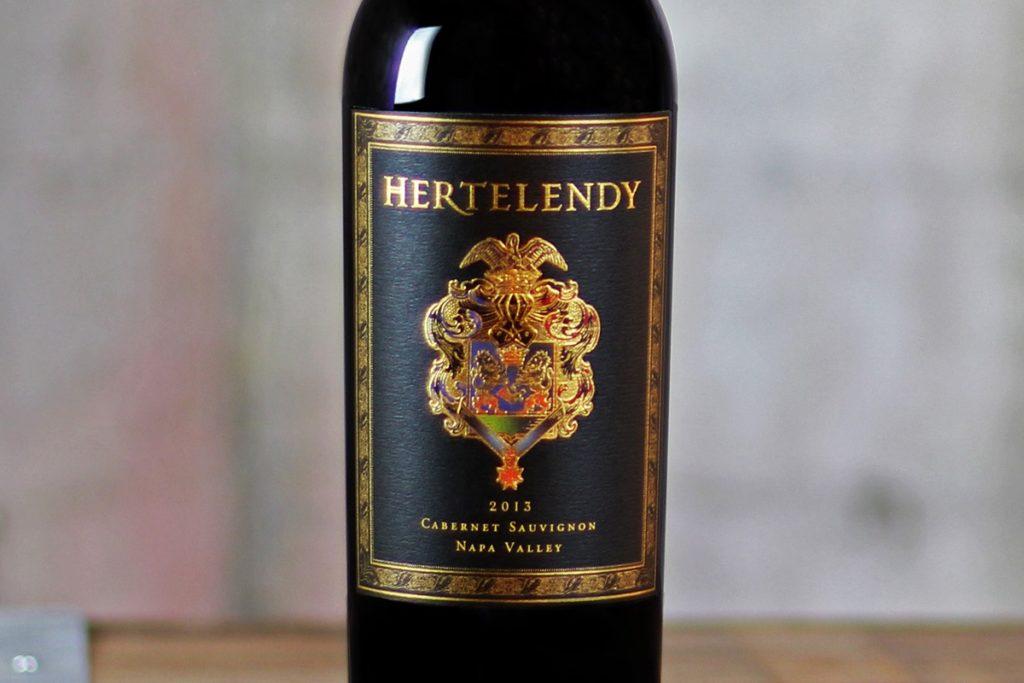 Hertelendy wine bottle
