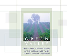 Green Valley with vineyard picture