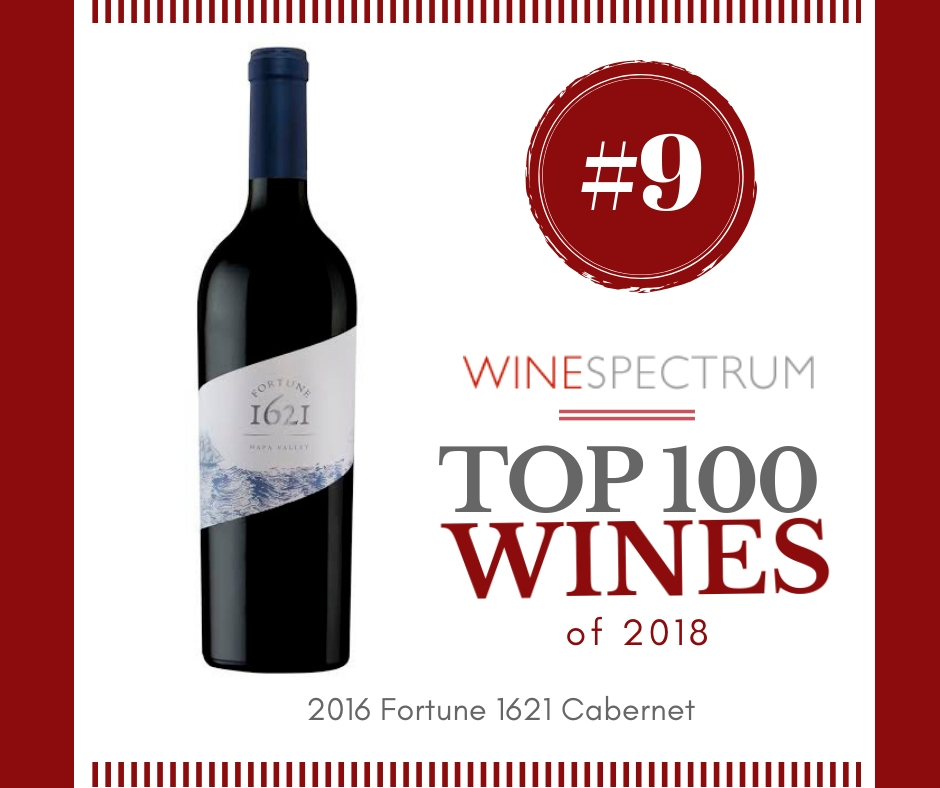 #9 wine of 2018 Fortune 1621