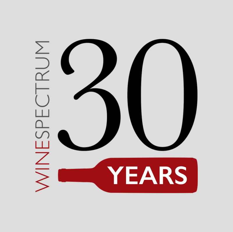 Wine Spectrum 30 years logo