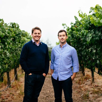 Tim and Collin from Bydand Winery