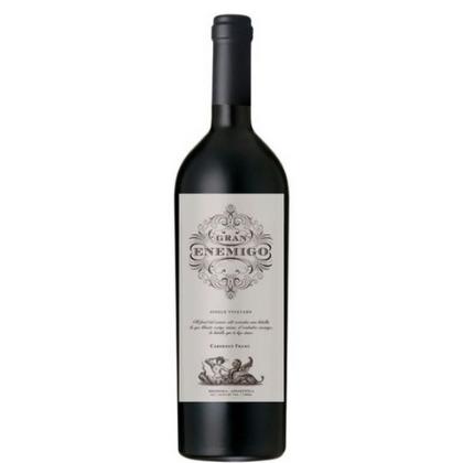 2015 Bodega Aleanna Gran Enemigo Gualtallary Single Vineyard Cabernet Franc Argentina