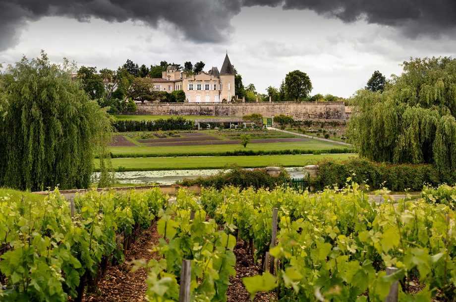Chateau in Bordeaux