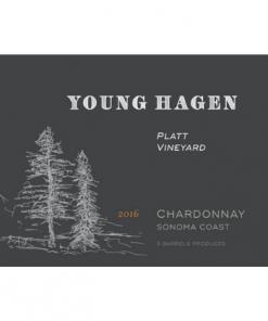 2016 Young Hagen Chardonnay Platt Vineyard Sonoma Coast