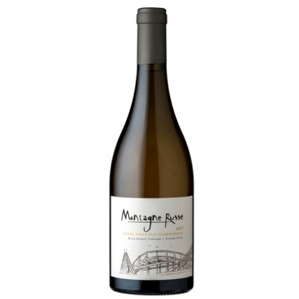 2017 Montagne Russe Silver and Gold Chardonnay Sonoma Coast